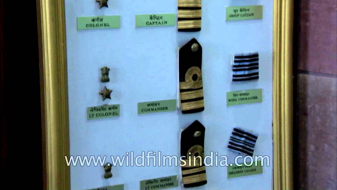 Indian air force officer ranks