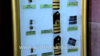 Rank order for officers in Indian Army, Navy and Air Force