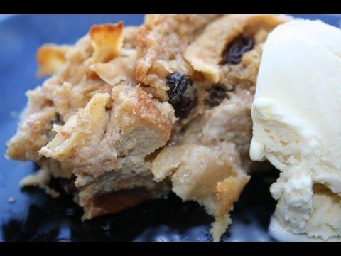 Apple & Raisin Bread Pudding