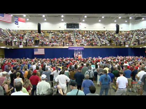 Full Speech: Donald Trump Holds Rally in Asheville, NC 9/12/16