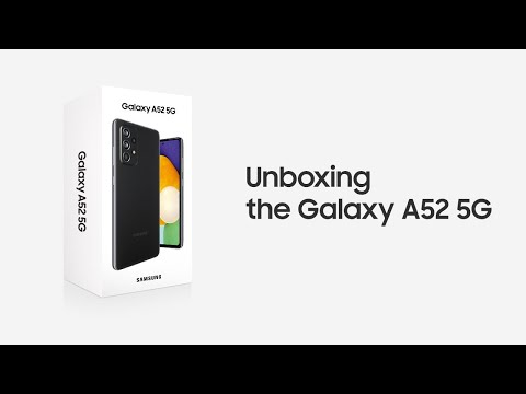 Galaxy A52 5G: Official Unboxing | Samsung