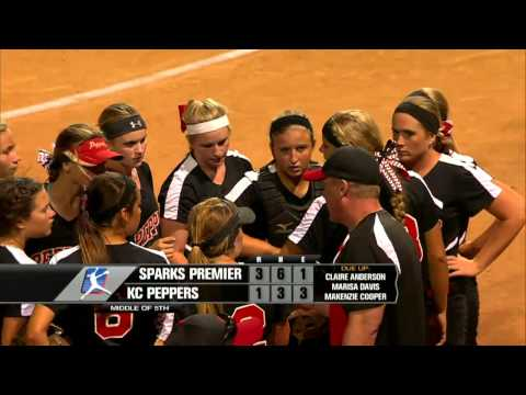 PGF Softball Championships - 16 Platinum Division - Sparks Premier vs KC Peppers 7:30pm PST LIVE