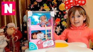 Іграшки розпакування Набір ляльок Evi Love Floor Bed Toys unpacking Set of dolls