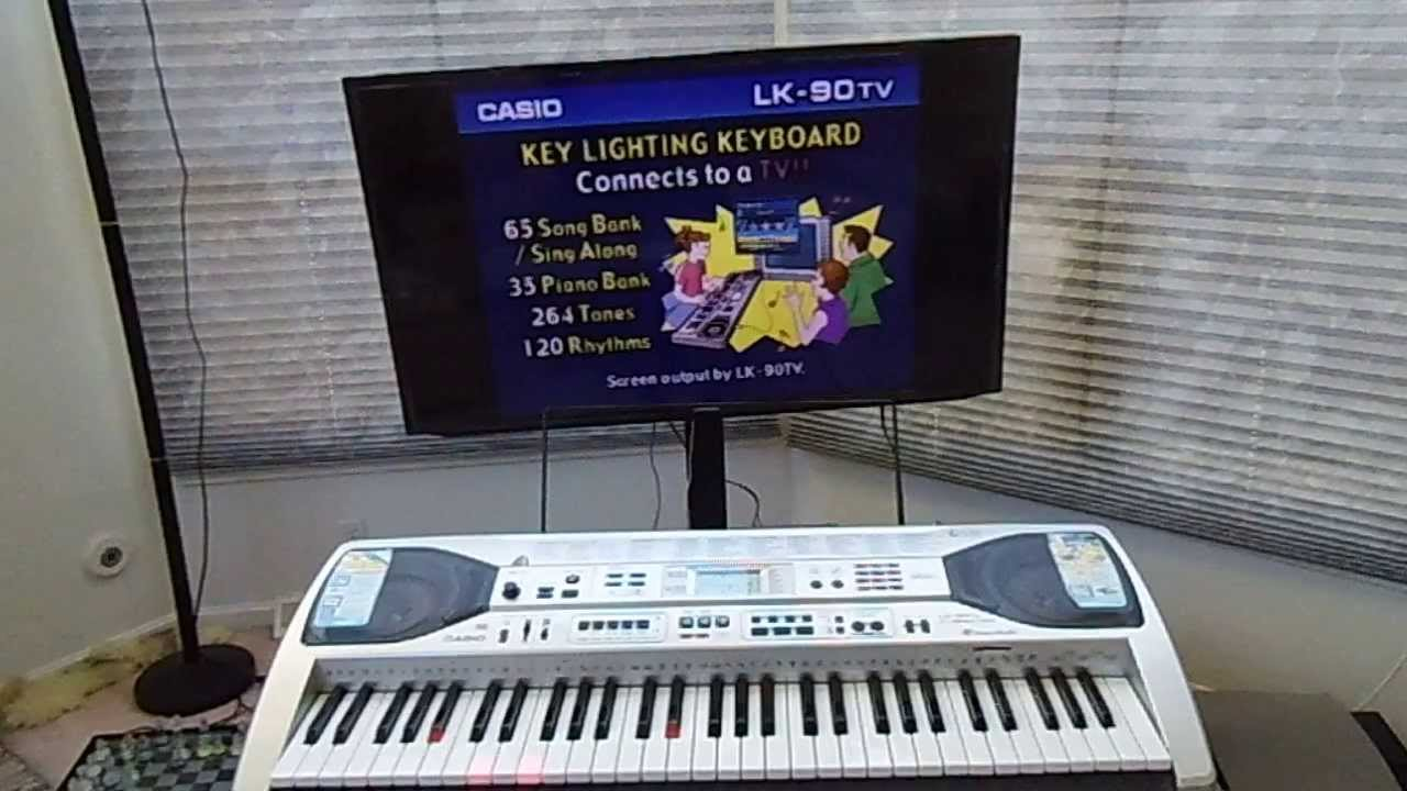 CASIO KEYBOARD LK-90TV WINDOWS 7 DRIVER DOWNLOAD