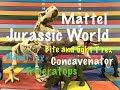 Mattel JURASSIC WORLD Stem T-Rex, bite & fight T-Rex,Triceratops, Concavenator toy review
