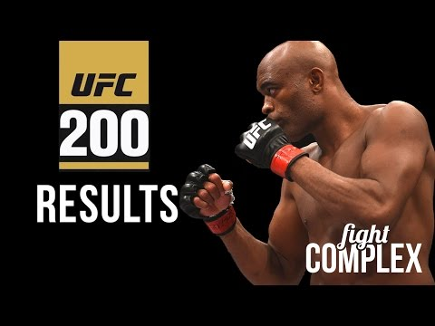 UFC 200 Results, winner calls out...