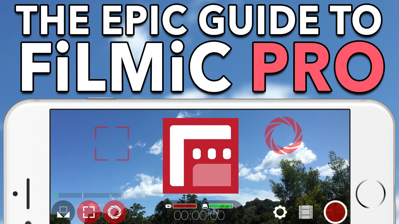 The Epic Guide to FiLMiC Pro v5 - In-Depth Tutorial - YouTube