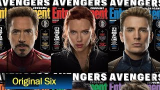 Avengers Endgame Special Covers Shows Our Original Six Avenger Entertainment Weekly AG Media News