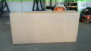 Ferris/snapper mulch kit, unboxing and install