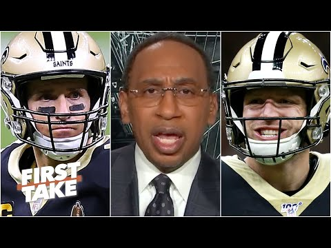 Stephen A. is impressed by Taysom Hill: He can do something Drew Brees cant'!   First Take