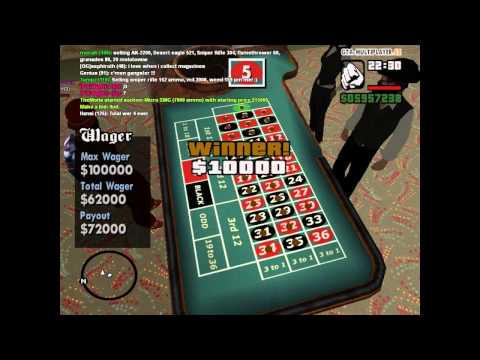GTA San Andreas | Roulette Trick