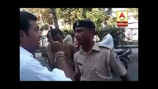 Surat : Man Clash With Traffic Police At Varachha