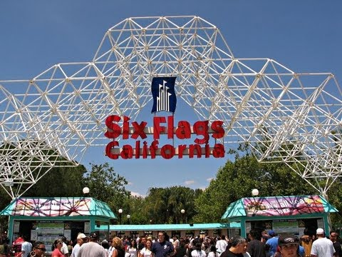 Six Flags Magic Mountain Timeline quotFrom the Begining to