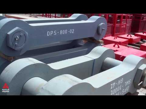 Integrated Heavy lift crane support tools and tackles
