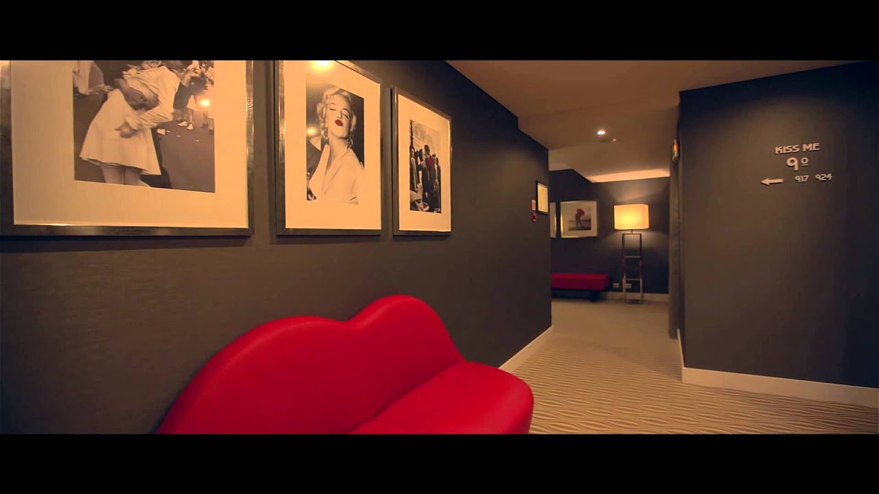 Kiss me floor lutecia smart design hotel lisboa youtube for Youtube design hotels