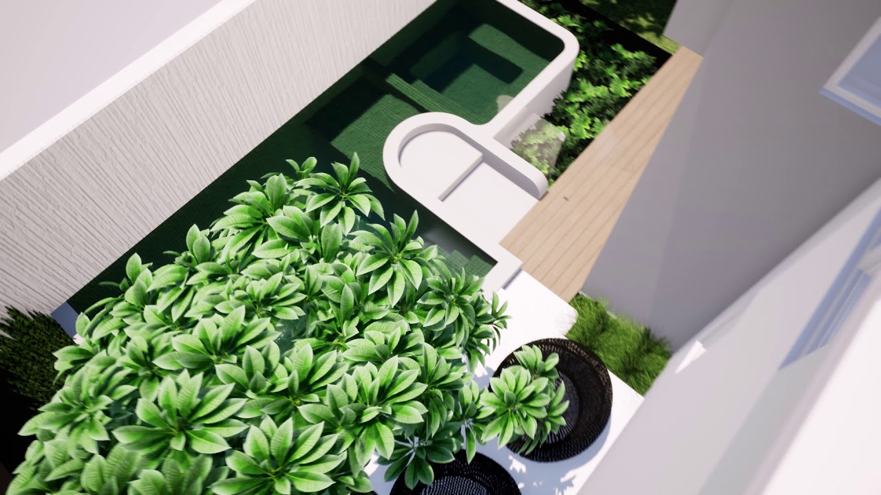 Swanbourne - Pool Spa & landscaping design tristanpeirce Landscape Architect Landscaper Perth