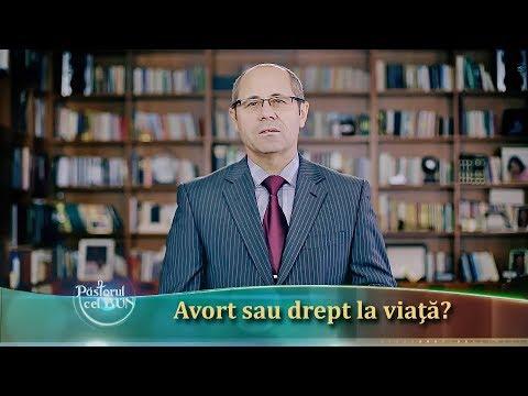27-2017 Avort sau drept la viata partea 1- Luigi Mitoi -Pastorul Cel Bun