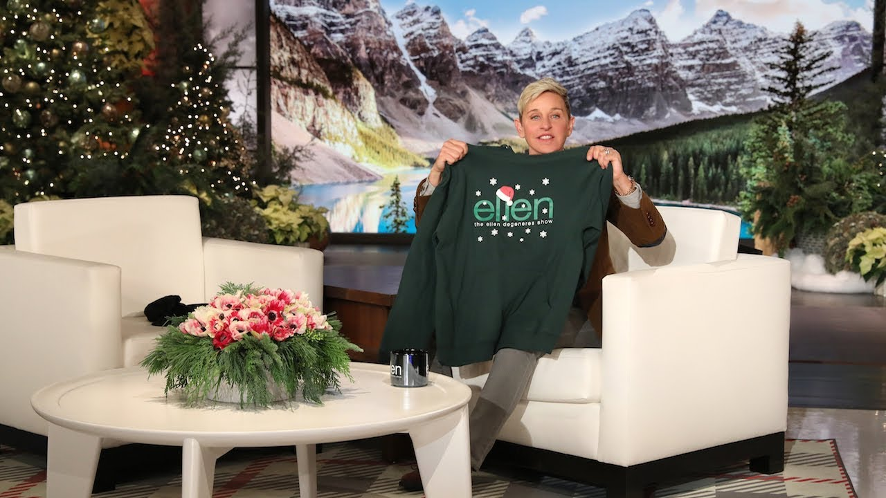 Ellen Will Help You Get Lit with These Holiday Ellen Shop Items!