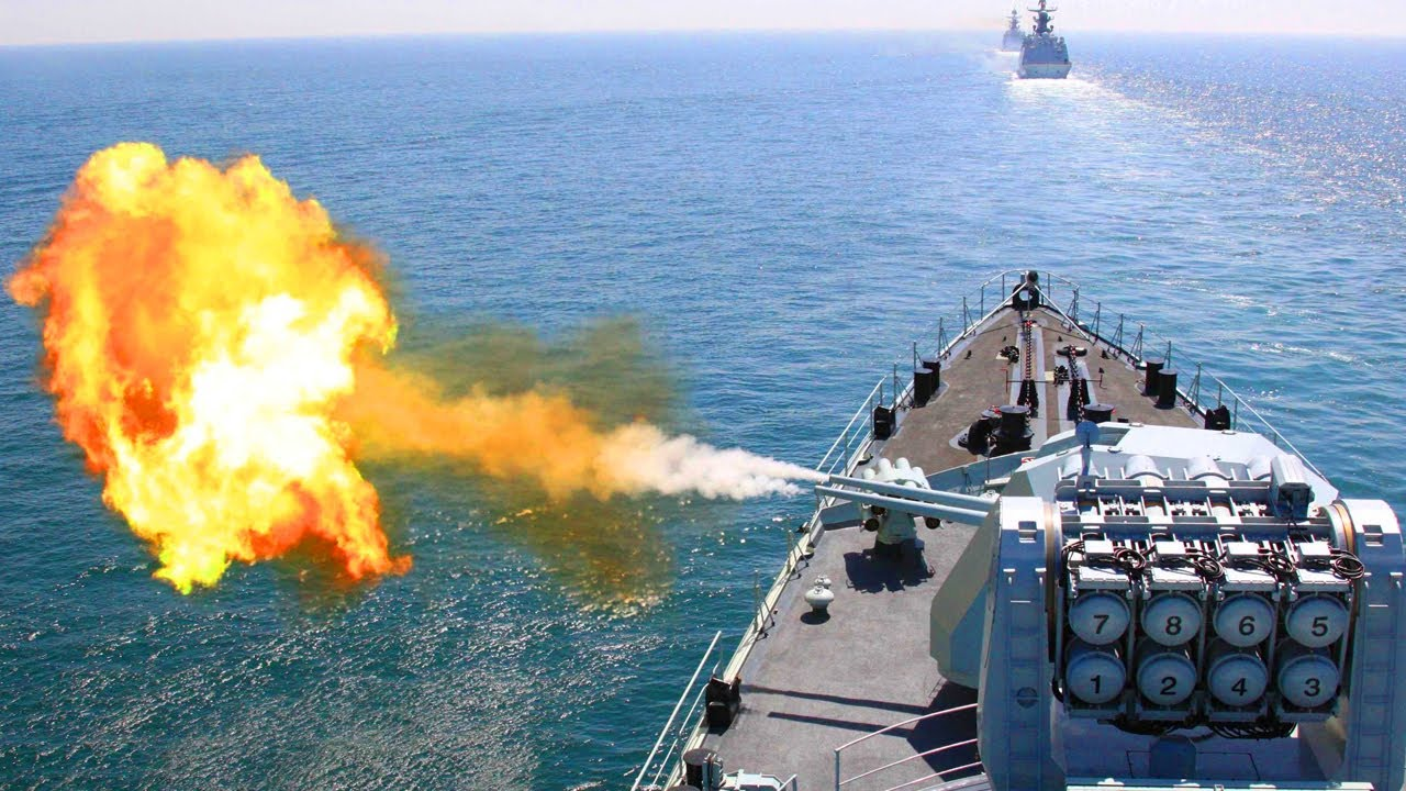 Amid Clash in LAC (Sept 21,2020) China-India Warships intercept each other in Indian Ocean Region