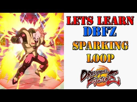 Lets learn DBFZ! - How to do Android 16's sparking blast loops