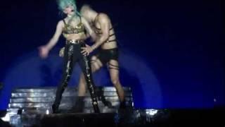 Edge of glory - Lady Gaga Singapore 7 July 2011, YES we were this near!!!
