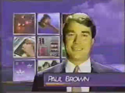 "WPSD Paducah TV 6-""NewsBeat"" 10:00pm Open May 1990"