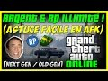 GTA 5 ONLINE - ASTUCE : ARGENT & RP EN ILLIMITÉ ! (MÉTHODE EN AFK)