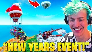 NINJA Finds *SECRET* NEW YEARS EVENT DISCO BALL! - Fortnite FUNNY Moments