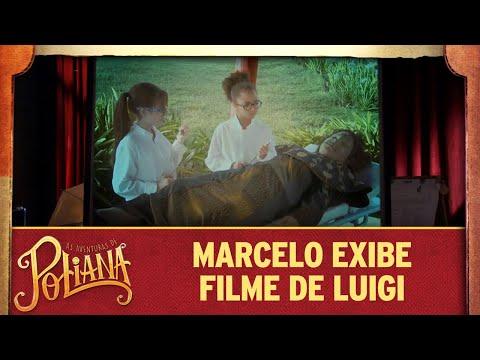 Marcelo exibe filme de Luigi na aula | As Aventuras de Poliana