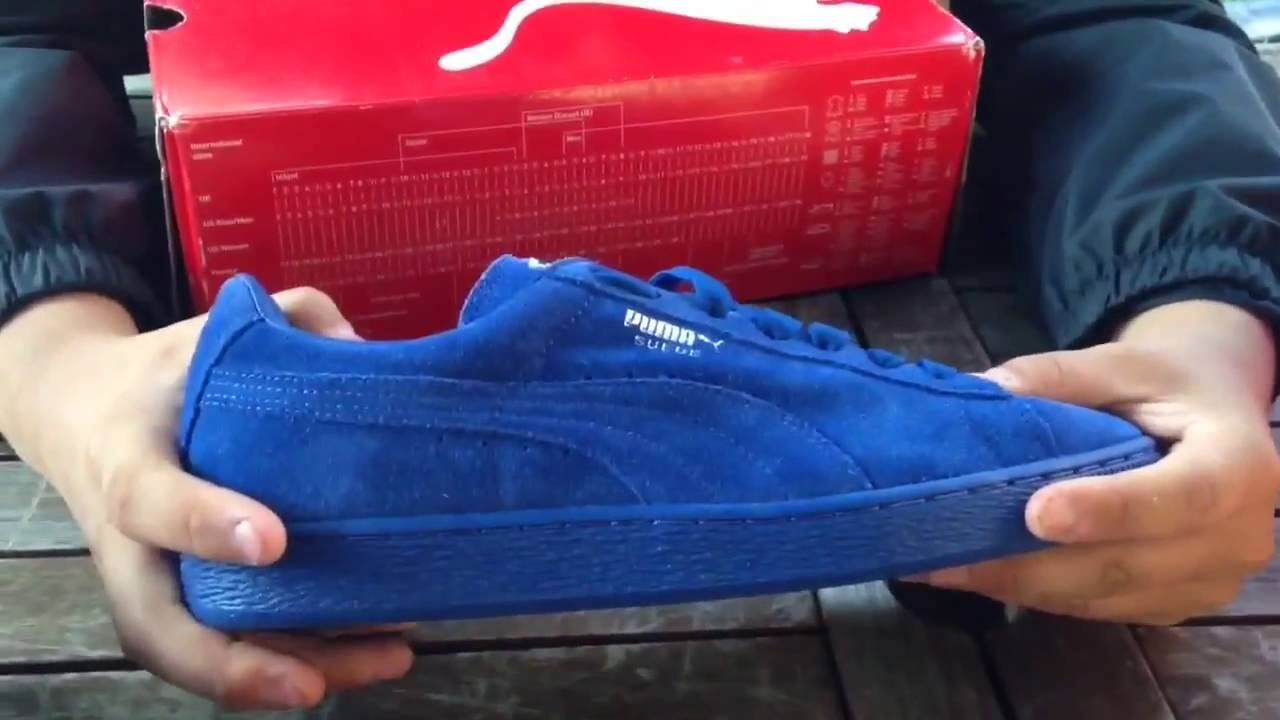 huge selection of bb40f 20bc6 BLUE/GREEN PUMA SUEDE REVIEW!