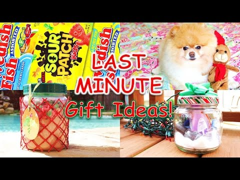 DIY LAST MINUTE Gift Ideas