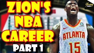 Zion Williamson's NBA CAREER SIMULATION | Part 1