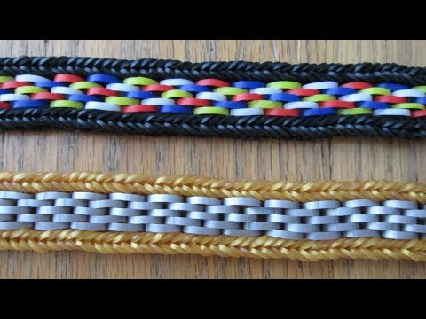 Rainbow Loom- Lynx Bracelet (Original Design)