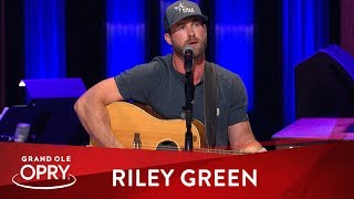 "Riley Green - ""I Wish Grandpas Never Died"" 