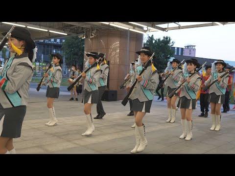 2020台中國際舞蹈嘉年華 新民高中樂儀旗隊 踩街 .part3 ▶6:35