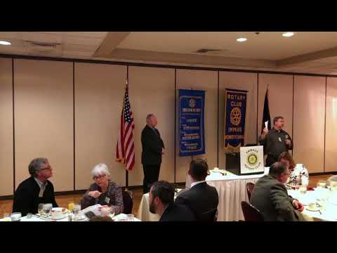 3-15-18 Captain D F Pace - Rotary Peace Fellow