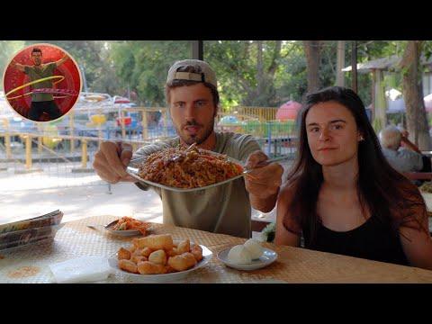 Kyrgyzstan Food - street food & traditional cuisine - Ep 178