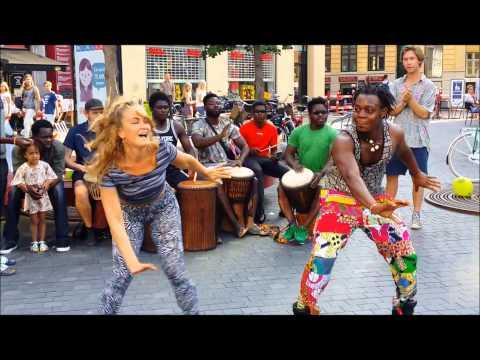 Ghana Drums in Copenhagen Summer  2015