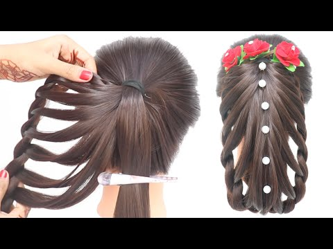 Beautiful hairstyle for long hair | new hairstyle for girls | easy hairstyle | girls hairstyle new