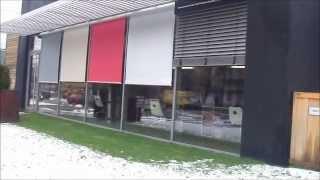 Рафшторы и вертикальные маркизы(Для солнцезащиты здания использовано сочетание рафштор и вертикальных маркиз. Информация для заказа на..., 2013-04-08T11:45:49.000Z)