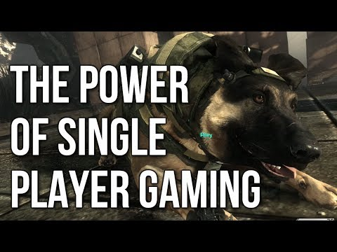 The Power Of Single Player Gaming (CoD Ghosts Campaign Gameplay)