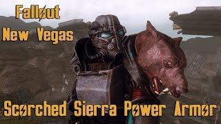 Scorched Sierra Power Armor - Fallout New Vegas