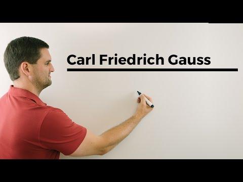 Die Geschichte von Carl Friedrich Gauss und den ersten 100 Zahlen....