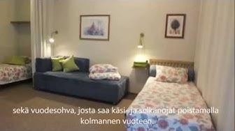 Huoneistohotelli Majoitus Makkonen Hyvinkää Kalustettu asunto Toukola