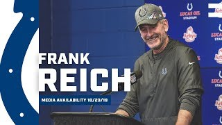Frank Reich Postgame Press Conference: Colts vs. Texans