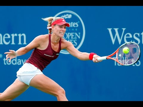 2016 Western and Southern Open Semifinals | Angelique Kerber vs Simona Halep | WTA Highlights
