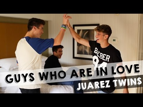 How Guys Act When They Are In Love ft. JuarezTwins