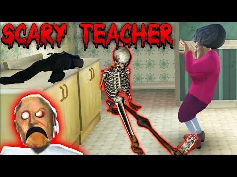 БАБКА УЧИТЕЛЬНИЦА МИССИС ТИ ПРАНК! - Scary Teacher 3D Prank