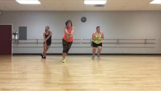 """Super Positive""  for Zumba (Modified from Live Love Party Choreo)"