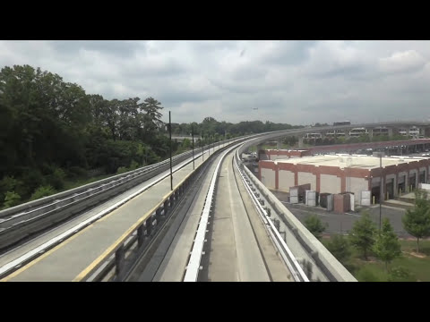 Full Ride on the ATL SkyTrain @ the Atlanta Airport with Magnolia State Elevators